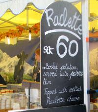 Swedish raclette