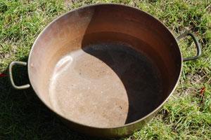 Jam pot for the garden