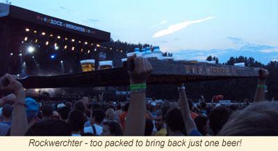 <Rockwerchter music festival in Belgium, Europe>
