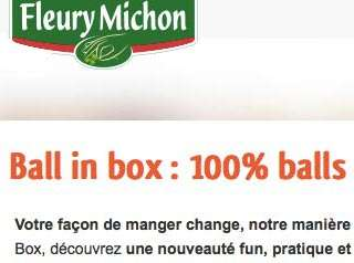 French food product called Ball in Box.
