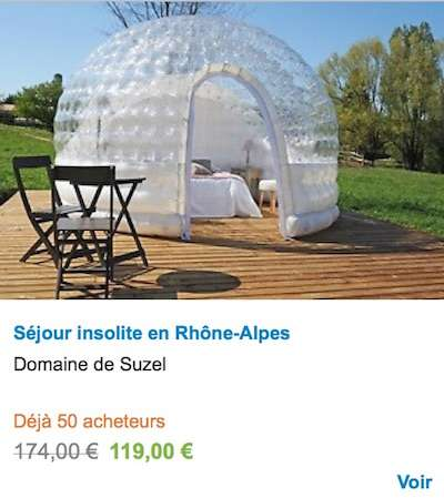 Glamping in France - French camp sites and accommodation