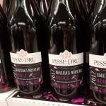 Pisse Dru French wine etymology