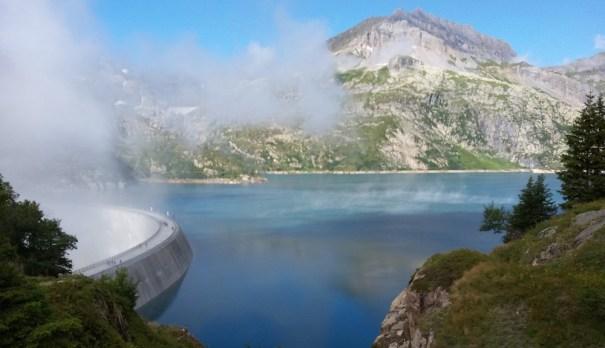 Emosson dam Switzerland