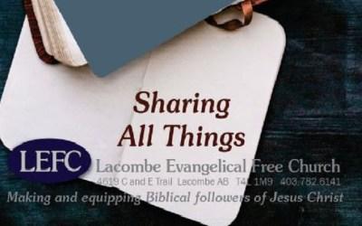Sharing All Things