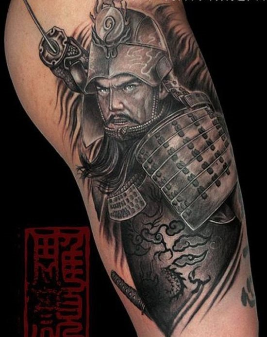 Tattoo Artist Camilo Black Work Tattoos Japanische New Traditional