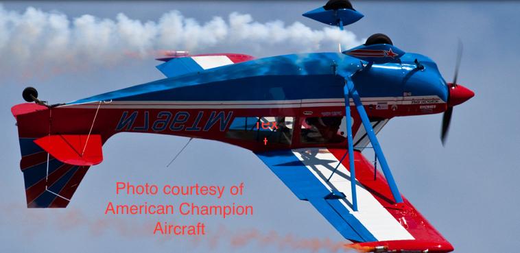Super Decathlon Aerobatic Training