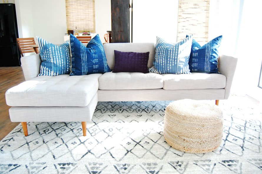 Let's Talk Sofa: See a list of the best sofas we found for our living room renovation!