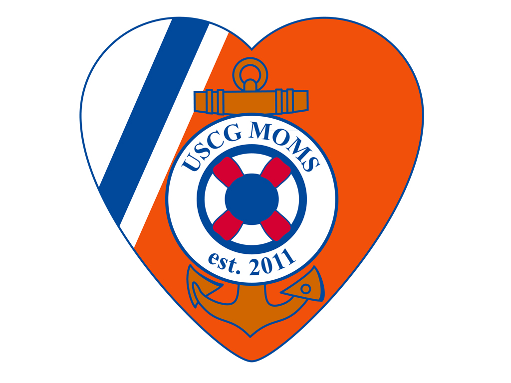 Logo: USCG Moms Division
