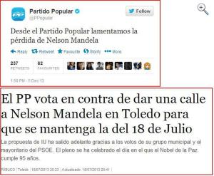Mandela tweets