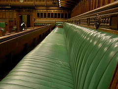 commons bench by UK Parliament, file at http://www.flickr.com/photos/uk_parliament/2700549765/sizes/s/in/photostream/
