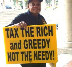 Tax the rich and greedy