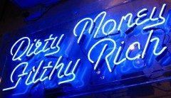Dirty Money Filthy Rich, Lazarides Gallery London