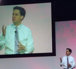 Ed Miliband at Welsh Labour conference