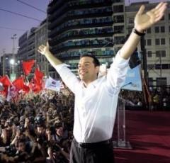 Tsipras election rally