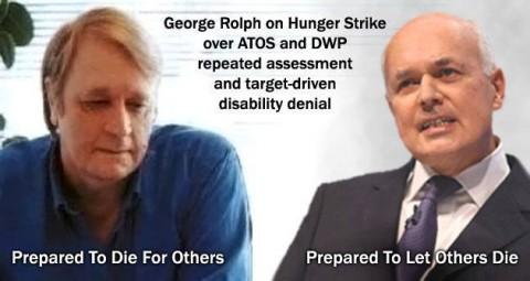George Rolph - hunger strike