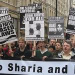 No to sharia!
