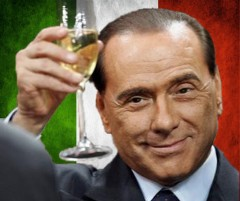 Berlusconi says farewell1
