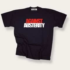 Against Austerity s-s Red