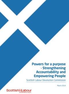 Scottish Labour Devolution Commission report - draft (FINAL)