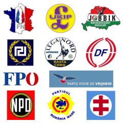 Far right logos