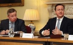 Frenemies Cameron and Gove
