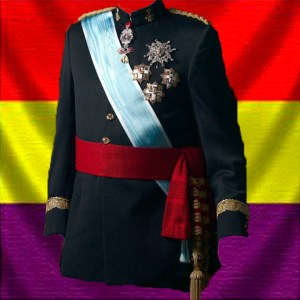 Handout  released by the Spanish Royal House shows Spain's King Juan Carlos posing for his new official portraits