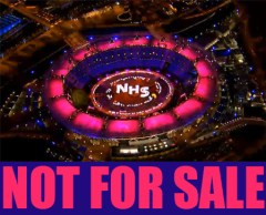 NHS Olympics image not for sale