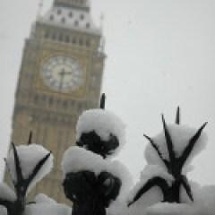 Parliament Fence & Big Ben by Jay Fergusen at Flikr