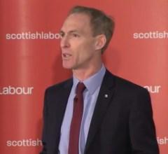 Jim Murphy accepting the Scottish leadership