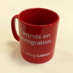 Immigration mug square