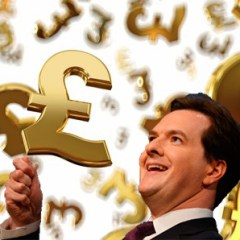 Osborne in a money shower