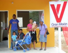 Venezuela new home in Great Housing Mission