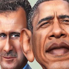 Obama Assad
