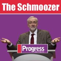 Corbyn and Schmoozing Progress