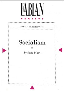 Tony Blair explained his concept of socialism in 1994
