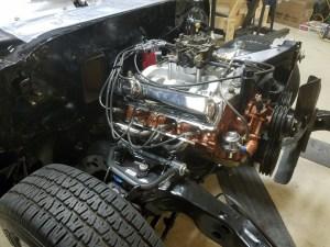 cutlass-455-motor-install-11