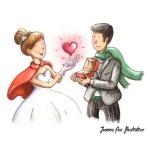 Joanna Fux: Illustratrice mariage
