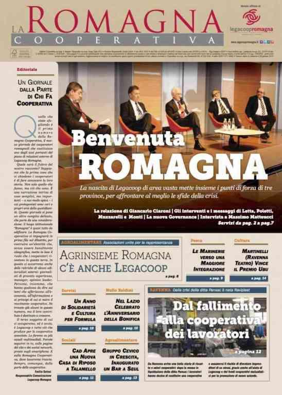 Il numero 1/2014 della Romagna Cooperativa