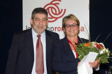 Giancarlo Ciaroni e Ruenza Santandrea