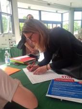 L'assessore del Comune di Forlì Francesca Gardini