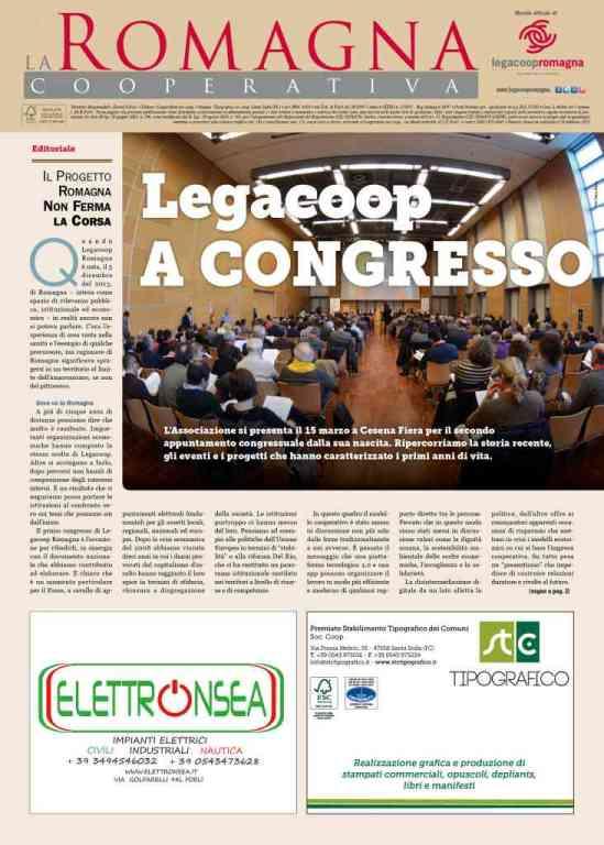 """La Romagna Cooperativa 2/2019 """"Legacoop a Congresso"""""""