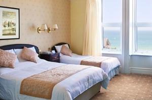 HOTEL VICTORIA Newquay Family Room Sea View