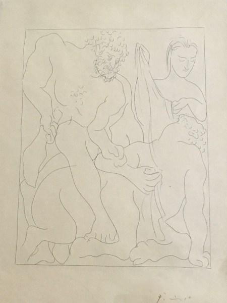 Pablo Picasso - Hercule Tue Le Centaure Nessus