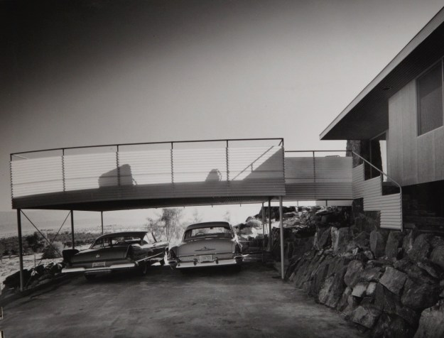 Julius Schulman - Suite of Nine Photographs of Albert Frey's Cree House Palm Springs, California