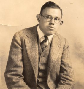Dr Earl Carlson as a young man. Source: Cerebral Palsy Midlands