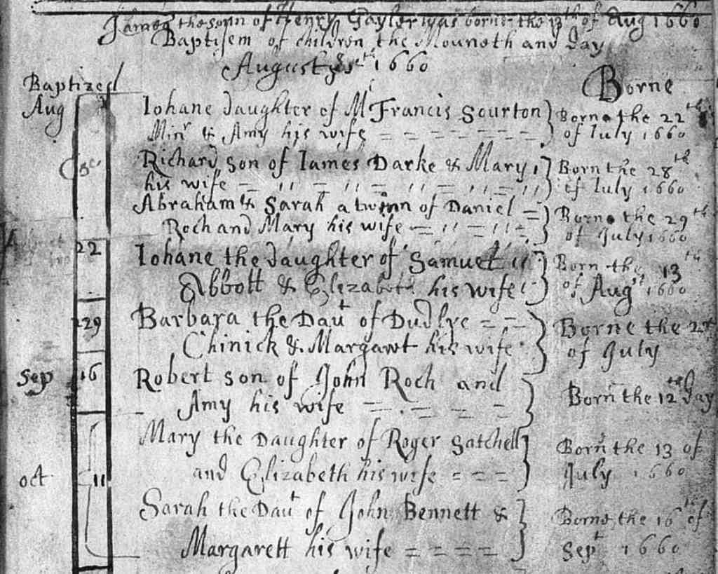 English genealogy and tracing your English ancestors