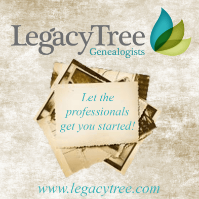 Genealogists & Genealogy Research Services | Legacy Tree