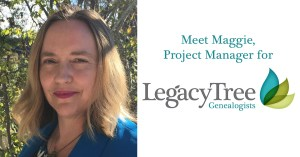 Maggie Stevenson, Professional genealogist