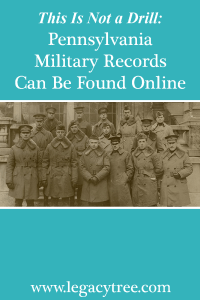 Pennsylvania military records