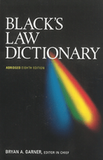 Black's Law Dictionary Abridged Paperback